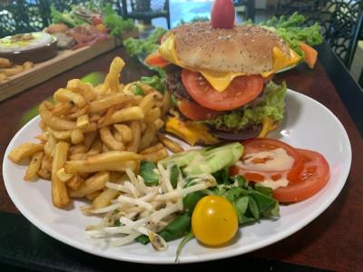 le burger maison